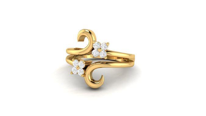 ring for women 3d model stl 3dm 1