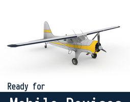 DeHavilland DHC-2 Beaver 3D Model