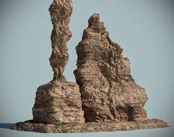 Desert Rock 07 3D Model