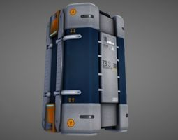 Sci Fi Container 01 3D model