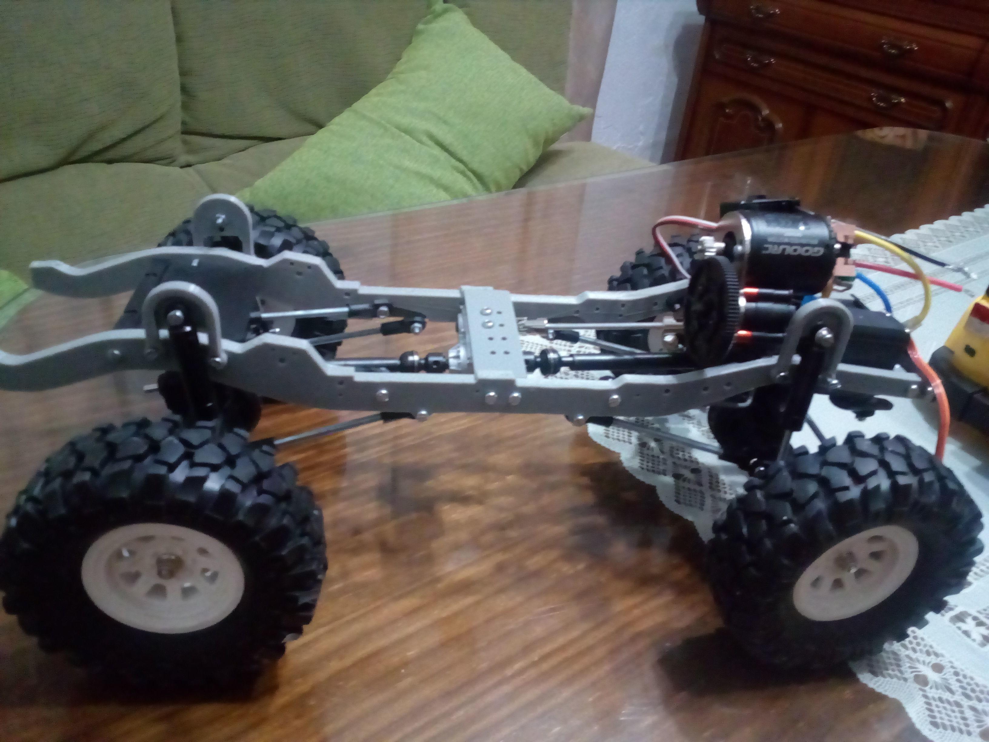 Transfer case RC car | 3D Print Model