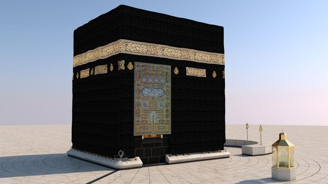 Buy And Sell Apps >> 3D Kaaba   CGTrader
