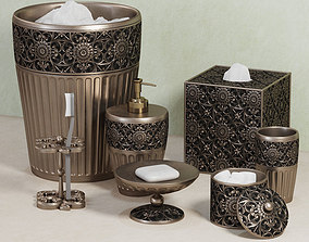 jar Marrakesh Bath Accessories by Croscill 3D