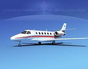 Cessna C560XL Citation V04 3D model