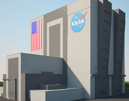 3D model NASA Vehicle Assembly Building