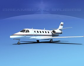 Cessna C560XL Citation V08 3D model