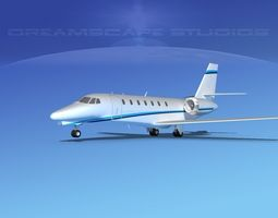 Cessna C680 Citation Soveriegn V11 3D