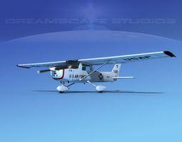 3D model Cessna T-51 V04