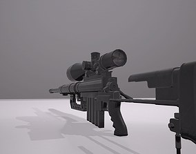 3D model Cheytac M200 Sniper Rifle