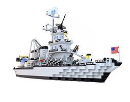 3D model Ship Lego