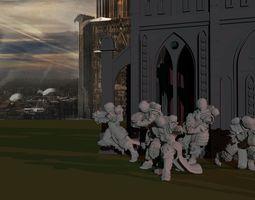 3D print model Sisters of War - Sanctifier Squad