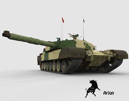 Arjun indian army scheme 3D Model