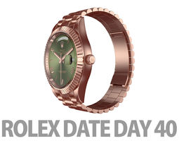 3D Rolex DAY-DATE 40 Watch