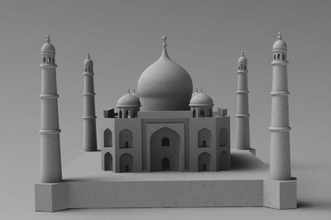 Taj Mahal 3d Image: 3D Printable Model TAJ MAHAL