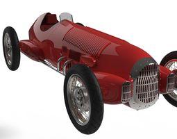 3D model Alfa Romeo 12C 1936