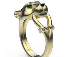 Ring Jaguar 3D printable model