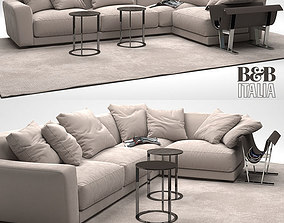 3D model Corner Sofa furniture