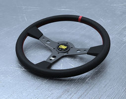 OMP Steering Wheel 3D