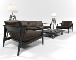 Colorado furniture set 3D model