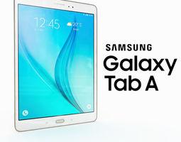 Samsung Galaxy A 9 White 3D model