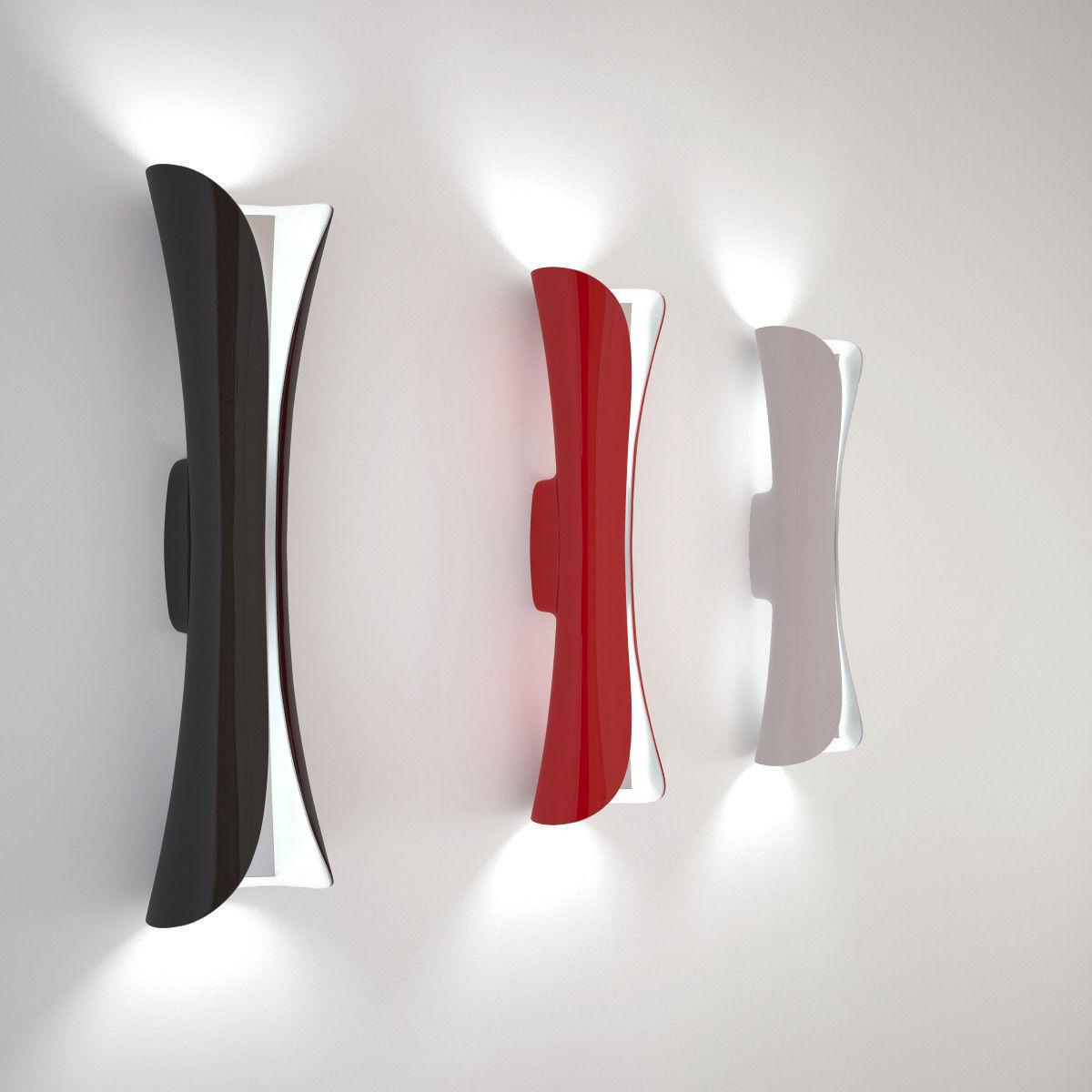 artemide cadmo parete 3d model max obj 3ds fbx mtl. Black Bedroom Furniture Sets. Home Design Ideas