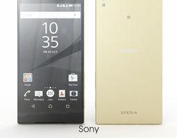 xperia Sony Xperia Z5 Gold 3D