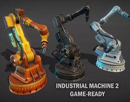 Industrial robotic hand 2 3D asset