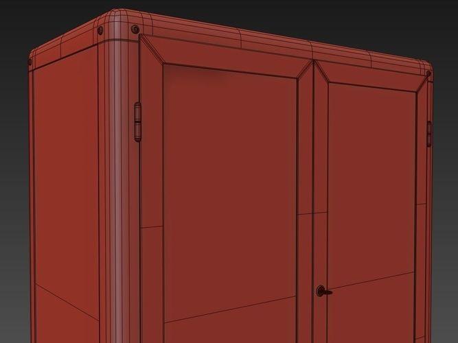 ... Ikea Cabinet Fabrikor 3d Model Max Obj Fbx 11
