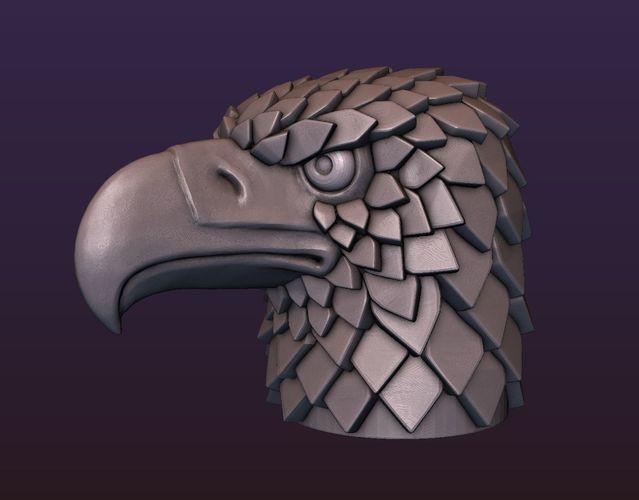 Eagle head stylized