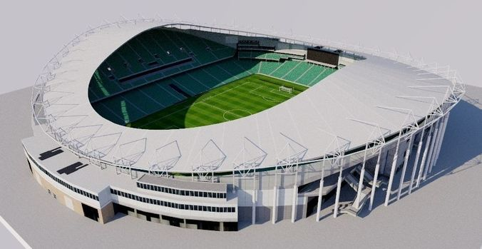 allianz stadium - sydney football stadium 3d model obj mtl 3ds fbx dxf dae dwg 1