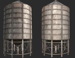 Farm Silo 6B PBR 3D model