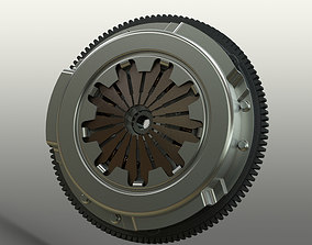 Clutch System 3D model