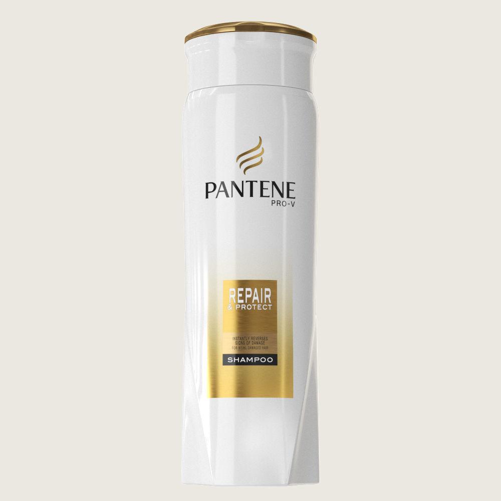 pantene shampoo bottle 3d asset cgtrader