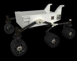 3d model curiosity mars rover