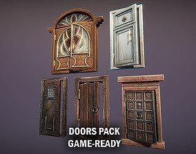 Doors pack 3D asset