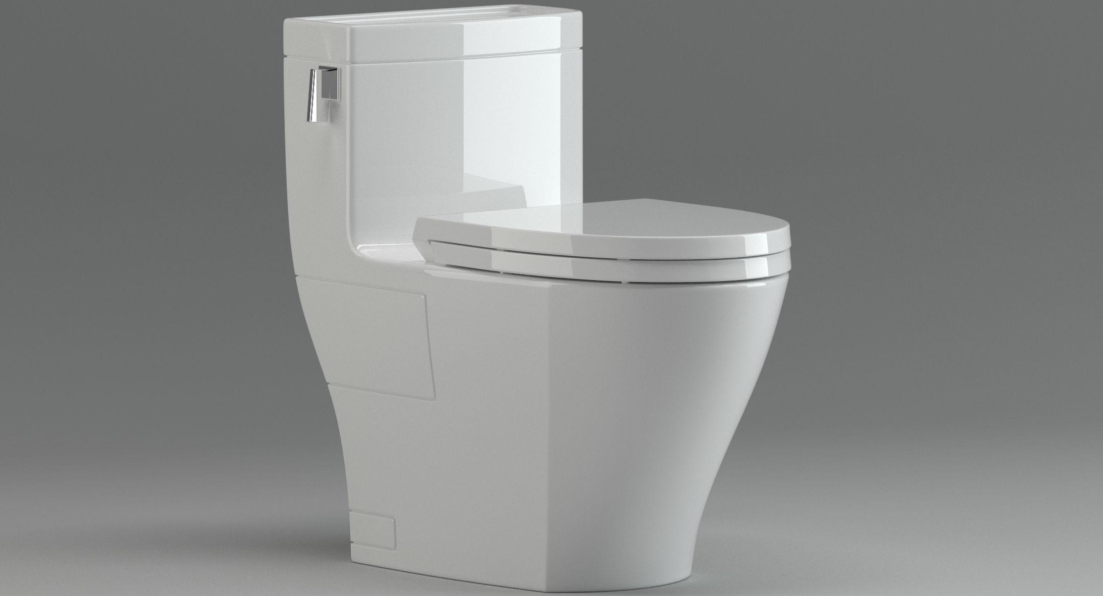 TOTO Legato MS624214CEFG toilet 3D model | CGTrader