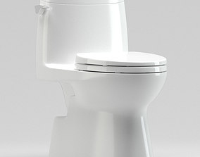3D model Carlyle II 1G One-Piece Toilet