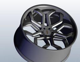 3D model CAR RIM