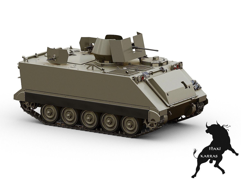 M113 Acav 3d Model Max Obj Fbx Cgtrader Com