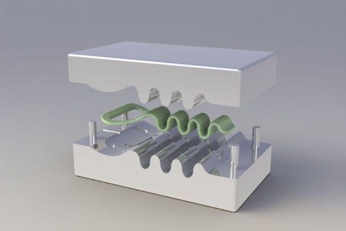 mold for bottle opener 3d model stl sldprt sldasm slddrw ige igs iges 1