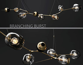 Branching burst 6 lamps by Lindsey Adelman DARK 3D model