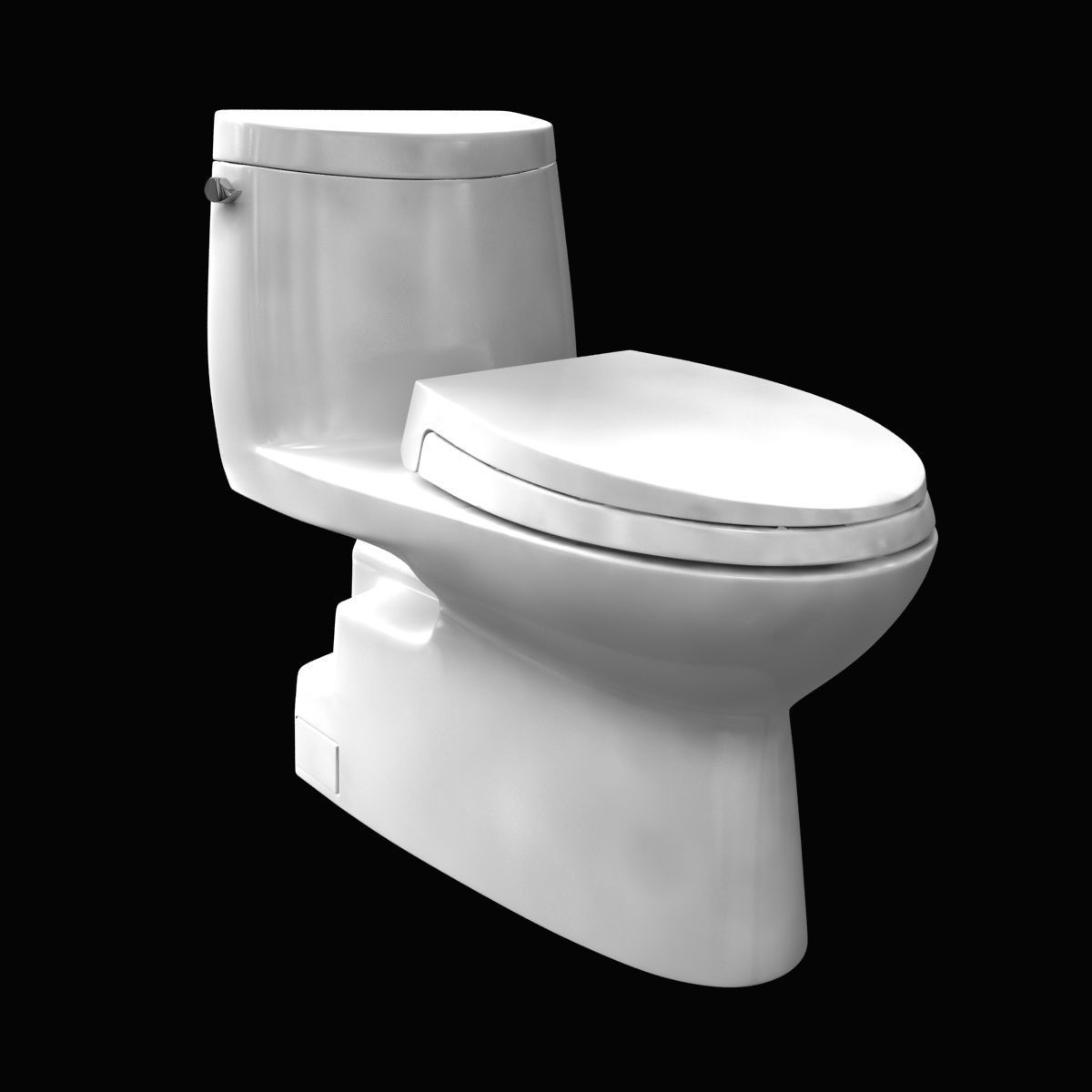 3D model toto Carlyle II One-Piece Toilet GPF Elongated