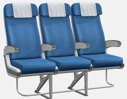 airplane seat 3d cgtrader