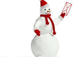 snowman 2 3d model