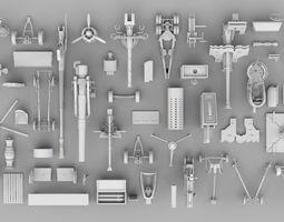 3D model SFDEMIR Kitbash Collection Parts 0007