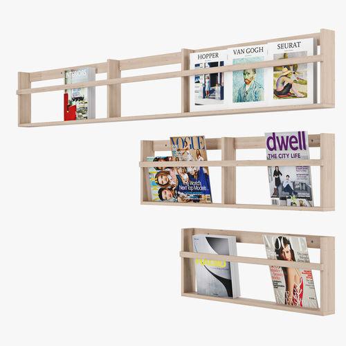 3d Vega Magazine Rack Cgtrader