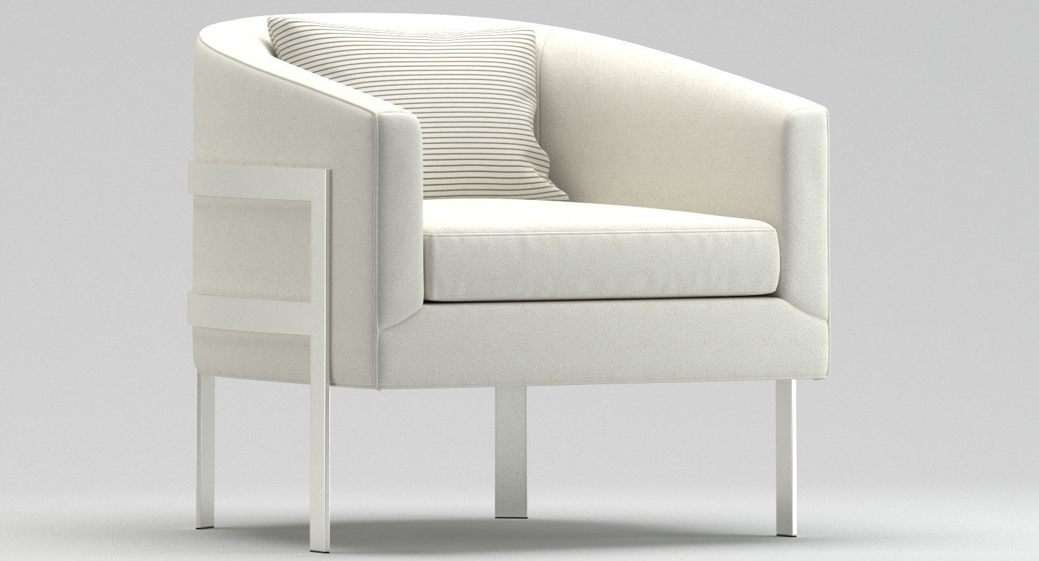 Cool Mitchell Gold Bob Williams Avery Chair 3D Model Home Interior And Landscaping Oversignezvosmurscom