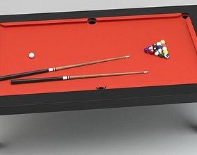 Billiard Table 01 3D model
