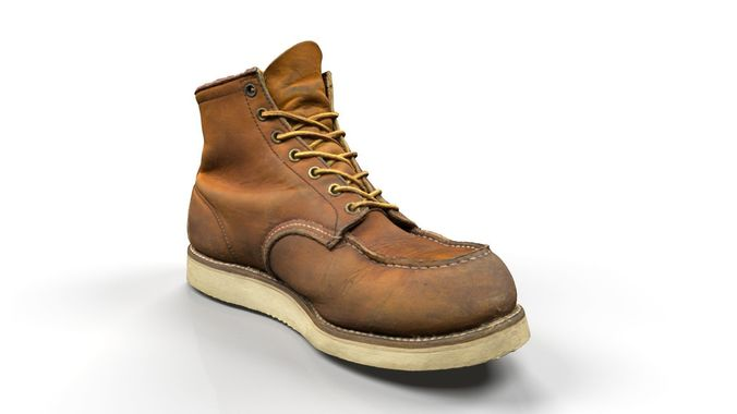 redwing boots scan 3d model obj ztl 1