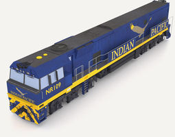 The Indian Pacific 3D model